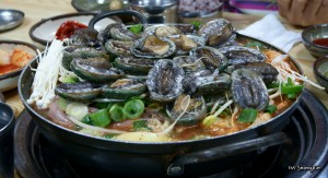 Sea Food Soup with Abalone (전복 해물탕)